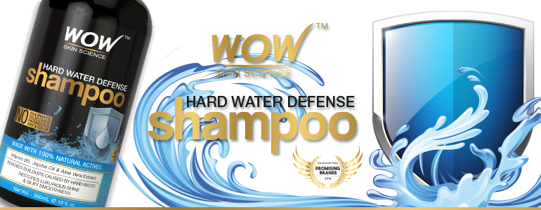 WOW Skin Science Hard Water Defense Shampoo banner image