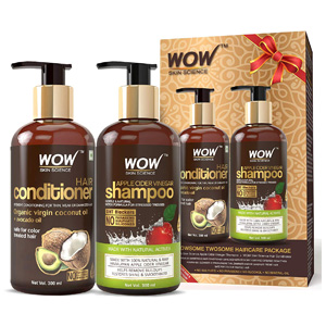 WOW Skin Science WOWsome Twosome Hair Care Package step3