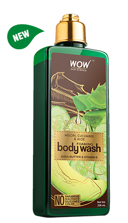 WOW Skin Science Melon, Cucumber & Aloe Foaming Body Wash