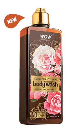 WOW Skin Science Rose Otto Foaming Body Wash