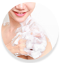 WOW Skin Science Wild Aqua Foaming Body Wash gives rich lather