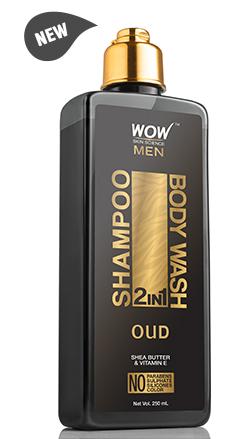 WOW Skin Science Oudh 2 In 1 Shampoo & Body Wash