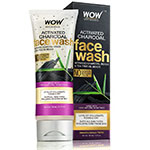 WOW Skin Science Activated Charcoal Face Wash Tube