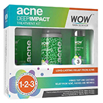 WOW Skin Science Acne Deep Impact Treatment Kit