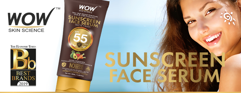 WOW Skin Science Sunscreen Serum SPF 55