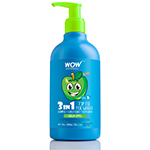 WOW Skin Science Kids green apple 3 in 1 Tip to Toe Wash