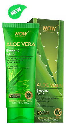 WOW Skin Science Aloe Vera Sleeping Pack