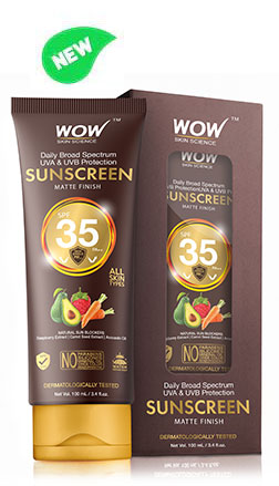 WOW Skin Science Sunscreen Lotion SPF 35