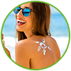 WOW Skin Science Sunscreen Lotion SPF 55 contains natural sun blockers