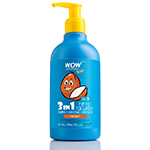 WOW Skin Science Kids coconut 3 in 1 Tip to Toe Wash