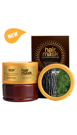 WOW Skin Science Hair Mask for Colored & Treated Hair