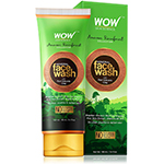 WOW Amazon Rainforest Collection Mineral Face Wash with Red Volcanic Clay
