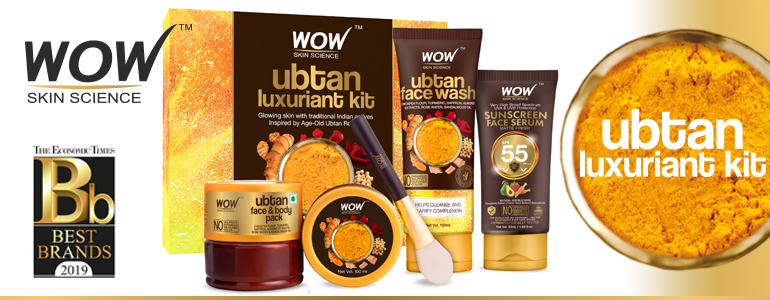 WOW Skin Science Ubtan Luxuriant Kit