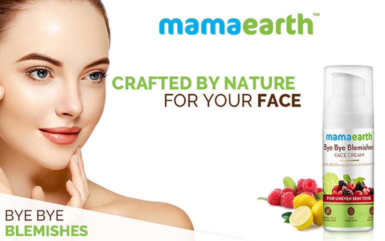 Mamaearth Bye Bye Blemishes Face Cream(50ml)
