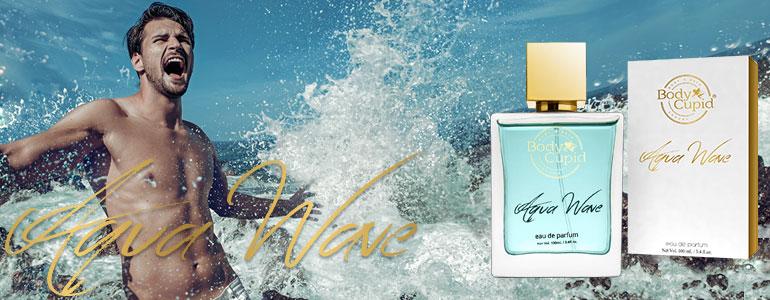 Body Cupid Aqua Wave Perfume for Men and Women - Eau De Parfum - Unisex - 100 mL