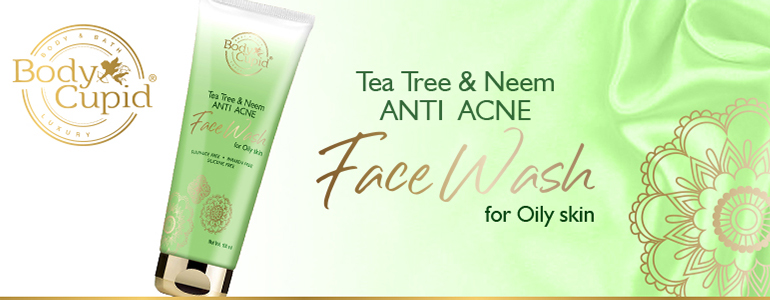 Body Cupid Tea Tree & Neem Anti Acne Face Wash