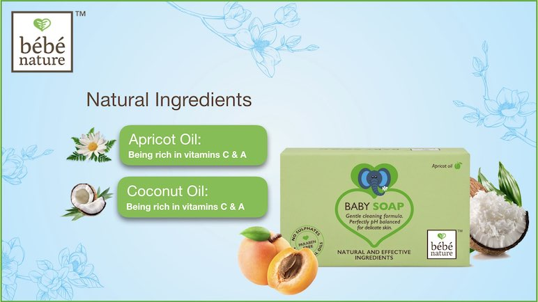 Ingredients of Apricot Soap