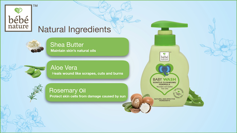 Ingredients of Baby Wash