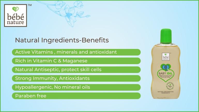Benefits of Baby Oil Ingredients