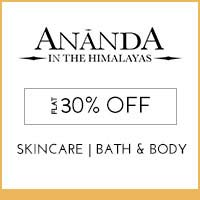 Get Online Offers on Ananda Products Rs 30 off