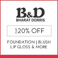Get Online Offers on Bharat & Dorris Products Upto 40% off