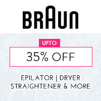 Get Online Offers on Braun Products Up to 35% off
