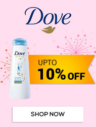 Get Online Offers on Dove Products Upto 10%