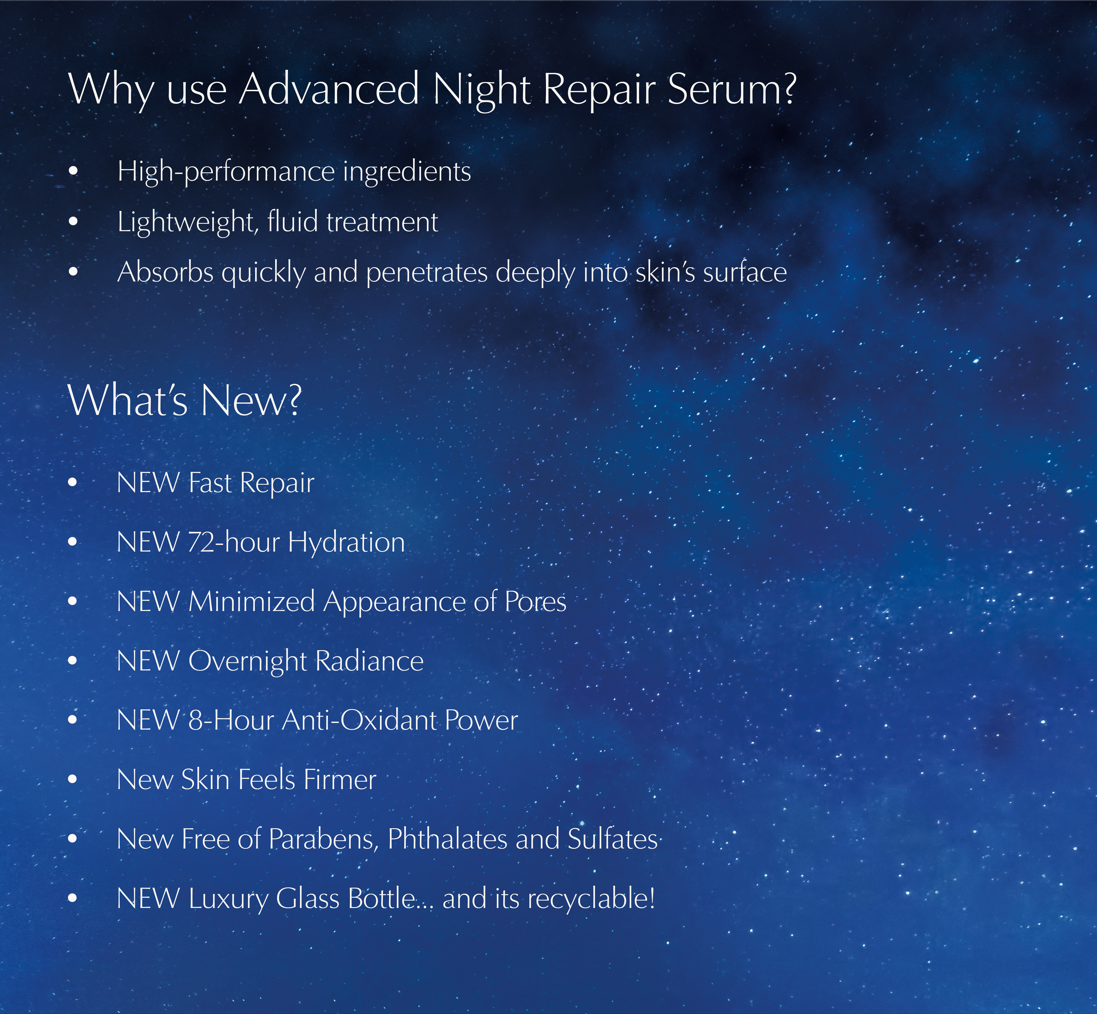 Estee Lauder Advanced Night Repair Synchronized Multi Recovery Complex Buy Estee Lauder Advanced Night Repair Synchronized Multi Recovery Complex Online At Best Price In India Nykaa