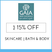 Get Online Offers on Gaia Skin Naturals Products Upto 30%