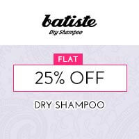 Get Online Offers on Batiste Products Flat 25% off