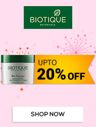 Get Online Offers on Biotique Products Upto 20% off