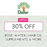 Get Online Offers on Dabur Products Upto 30%