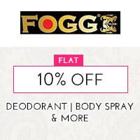 Get Online Offers on Fogg Products Flat 10%