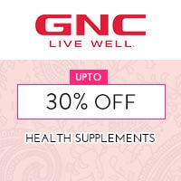 Get Online Offers on GNC Products Upto 30% off
