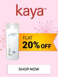 Get Online Offers on Kaya Products Flat 20% off