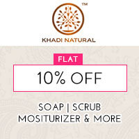 Get Online Offers on Khadi Natural Products Flat 10%