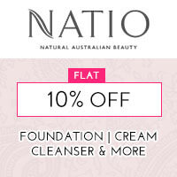 Get Online Offers on Natio Products Flat 10%
