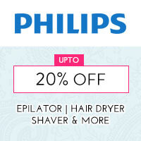 Get Online Offers on Philips Products Up to 20% off