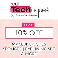 Get Online Offers on Real Techniques Products Flat 10%