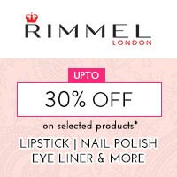 Get Online Offers on Rimmel Products Upto 30% on select skus