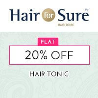 Get Online Offers on Hair For Sure Products Flat 10% off