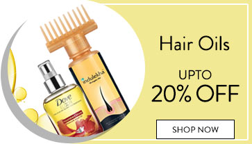 Get Online Offers on Hair Oils Products Upto 20% off