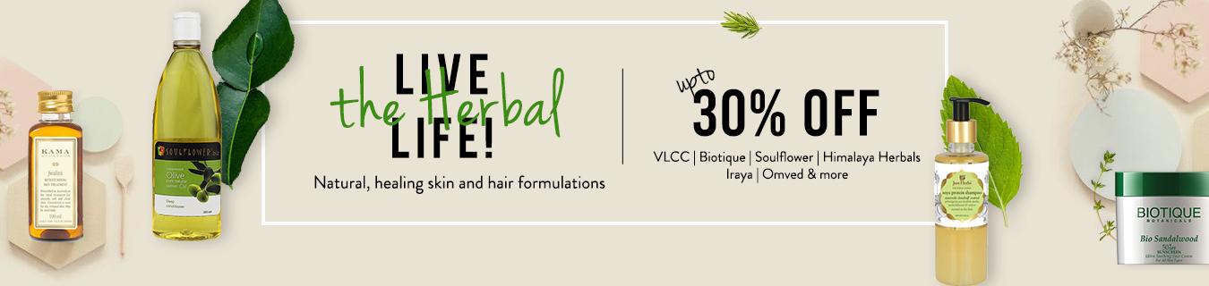 Herbal sale