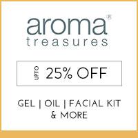 Aroma Treasures Upto 25% off