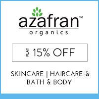 Azafran Organics Flat 15% off