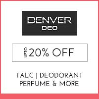 Denver Upto 20% off