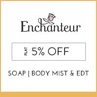 Enchanteur Flat 5% off