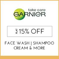 Garnier Flat 15% off
