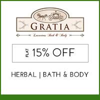 Gratia Flat 15% off