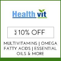 HealthVit Flat 10% off